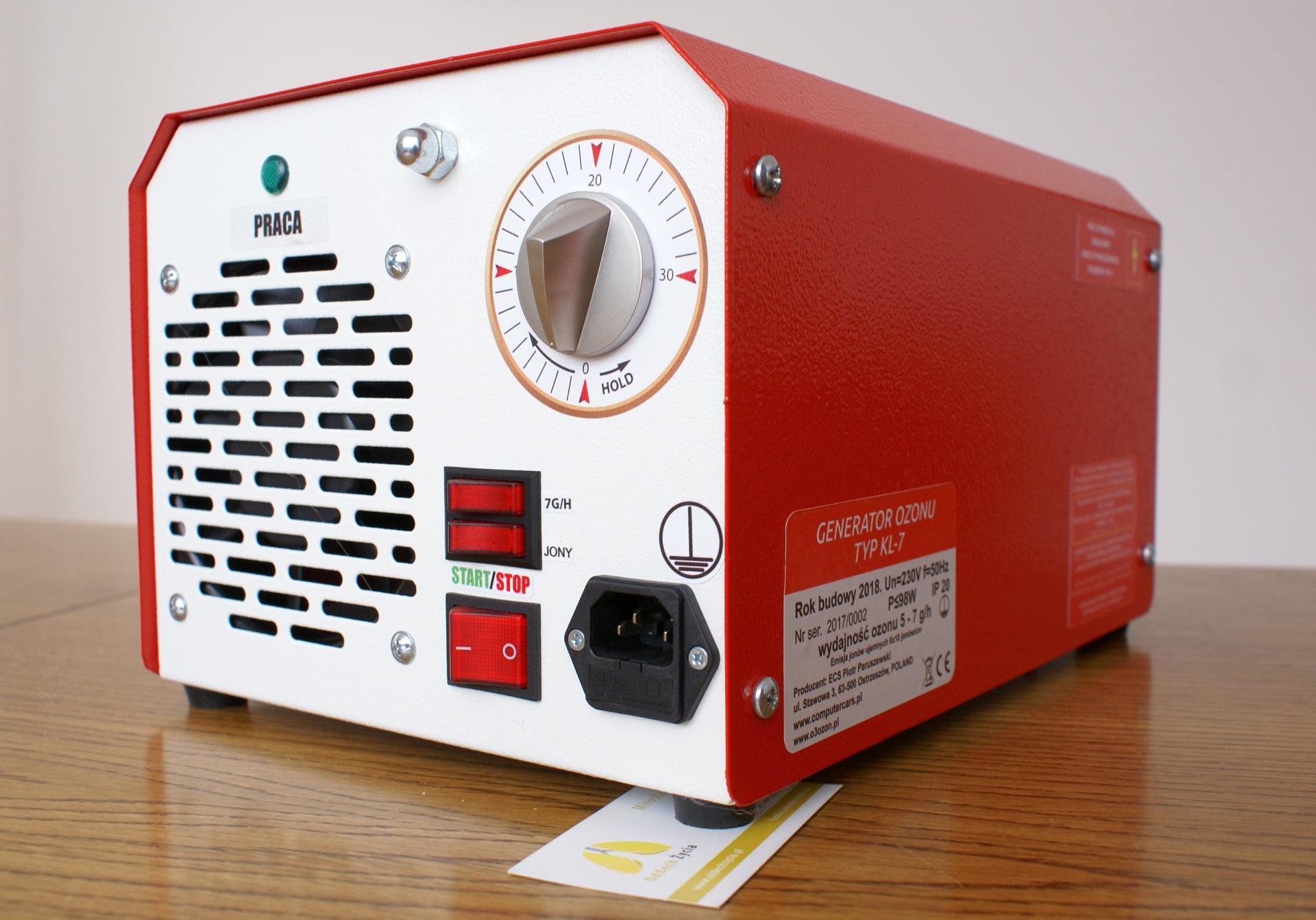 ozonator dla chorych na mukowiscydozę
