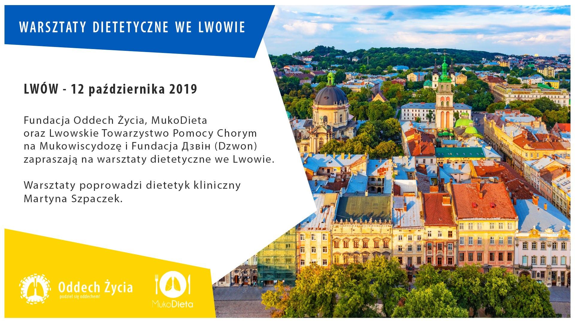 Warsztaty dietetyczne dla rodziców i opiekunów osób chorych na mukowiscydozę – Lwów 2019