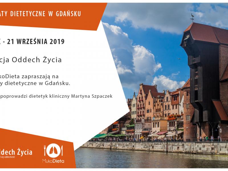 Warsztaty dietetyczne dla rodziców i opiekunów osób chorych na mukowiscydozę – Gdańsk 2019