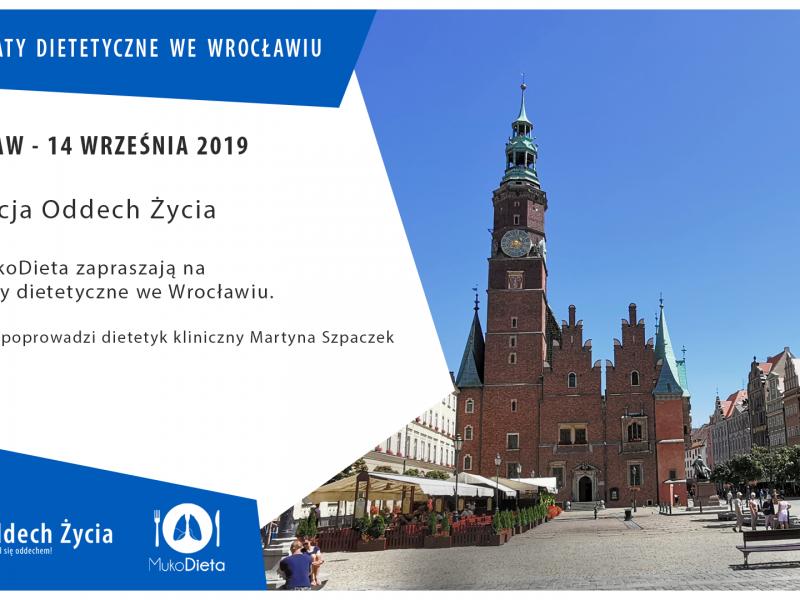 Warsztaty dietetyczne dla rodziców i opiekunów osób chorych na mukowiscydozę – Wrocław 2019